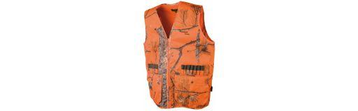 gilet de chasse Somlys Treeland Camo Orange