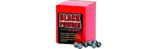 Balles poudre noire rondes Hornady Black Powder Cal. 31