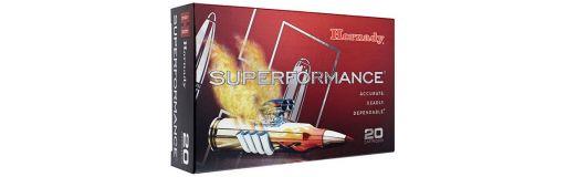 cartouches à balle Hornady Superformance 7mm-08 Rem SST 139 gr