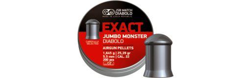 plombs 5,5 mm JSB Exact Jumbo Monster