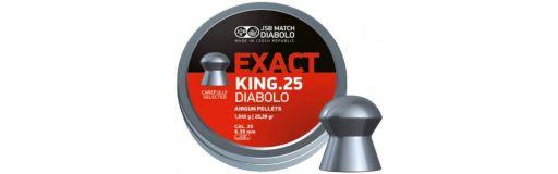 Plombs 6,35 mm JSB Exact King