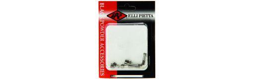 set 8 vis inox Remington 1858 Pietta
