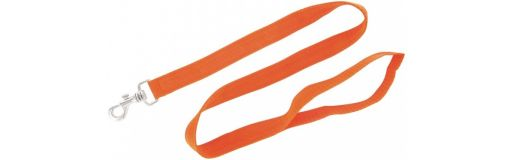 laisse nylon simple orange