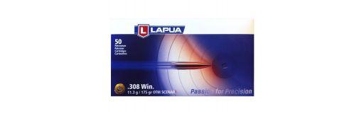 cartouches à balle Lapua 308 Win OTM Scenar L 175 gr
