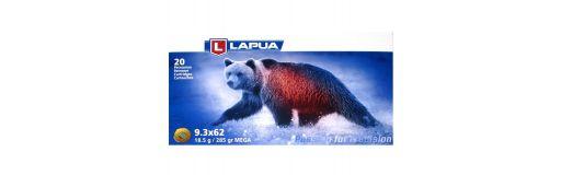 cartouches à balle Lapua 9.3x62 Mega 285 gr