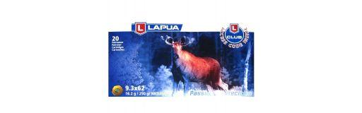 cartouches à balle Lapua 9.3x62 Naturalis 250 gr