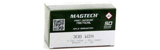 cartouches à balle Magtech 308 Win FMJ 150 gr