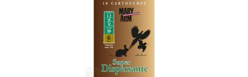 cartouches à plomb Mary Arm ARX Super Dispersante