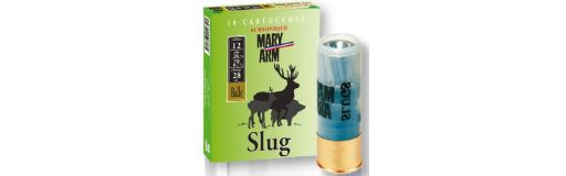 cartouches à balle Mary Arm Slug Subsonique