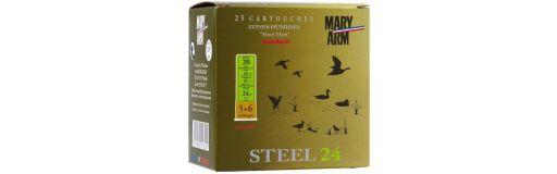 cartouches à billes acier Mary Arm Steel 24