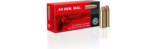 Munitions Geco .44 Rem Mag FMJ Tête plate