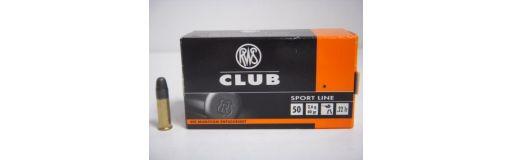 cartouches à balle 22LR RWS Club