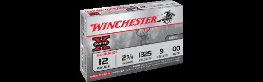 winchester Super X Buckshot Cal. 12/70 9 grains