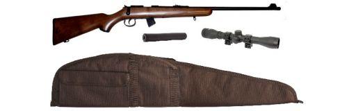 carabine 22 LR Norinco JW15 bois pack promo