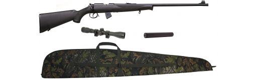 carabine 22 LR Norinco JW15 synthétique pack promo