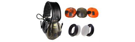 casque de protection Aearo Peltor Sport Tac Pack camo orange