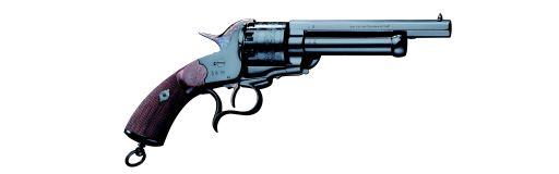 revolver poudre noire Pietta 1862 Le Mat Cavalry