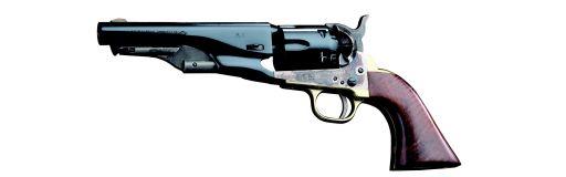 revolver poudre noire Pietta Colt 1862 Police Sheriff