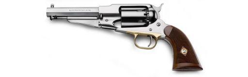 revolver poudre noire Pietta Remington 1858 Sheriff Inox