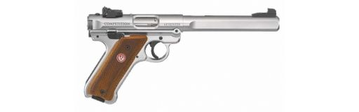Pistolet Ruger Mark 4 Competition Inox 22LR