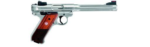 Pistolet Ruger Mark 4 Hunter Inox Cal. 22LR