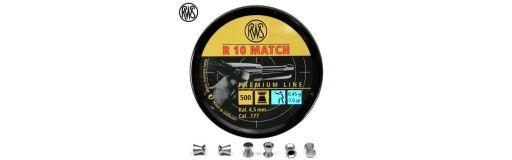 Plombs 4.5 mm RWS R10 4.5 mm Match