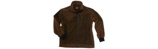 polaire Browning Powerfleece One Zippin vert brun