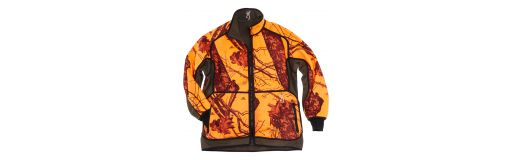 veste de chasse polaire réversible Browning Powerfleece orange/vert