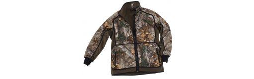 veste de chasse polaire réversible Browning Powerfleece Xtra/Vert