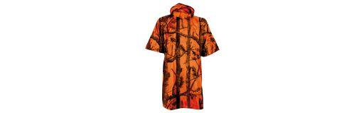 poncho Percussion Ghost camo orange