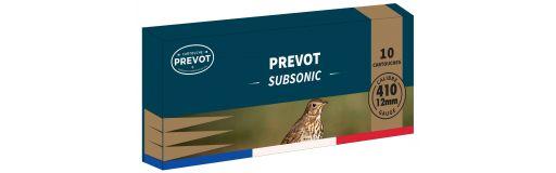 cartouches à plomb Prevot Subsonique Cal. 410