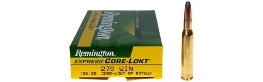 Remington 270 Win SP 150 gr