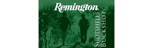 cartouches chevrotine Remington Shotshells Buckshot 9 gr