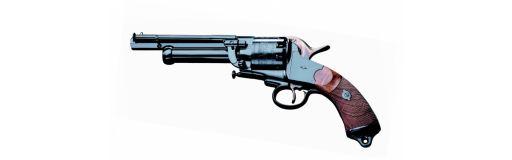 Revolver Pietta Le Mat Navy