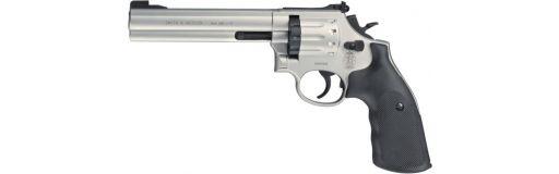 "Revolver CO2 Smith & Wesson modèle 686-6"" cal. 4.5 mm Nickelé"