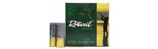 cartouches à bille acier Rottweil Steel Game HV 32