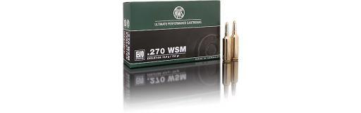 cartouches à balle RWS 270 WSM Evo Green 96 gr