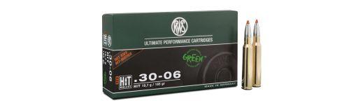 cartouches à balle RWS 30-06 HIT 165 gr