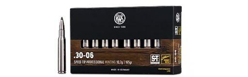 cartouches à balle RWS 30-06 Short Rifle Speed Tip Pro 165 gr