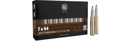Cartouches à balle RWS 7x64 Speed Tip Pro 150 gr