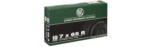 cartouches à balle RWS 7x65 R ID Classic