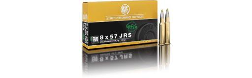 cartouche à balle RWS 8x57 JRS Evo Green