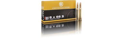 cartouche à balle RWS 8x68 S HKM