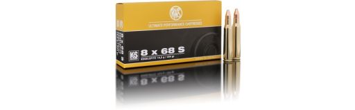 cartouche à balle RWS 8x68 S KS 180 gr
