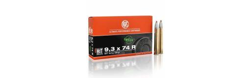 cartouches à balle RWS 9,3x74 R HIT 250 gr