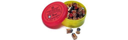 cartouche à balle RWS 9 mm Flobert balle conique