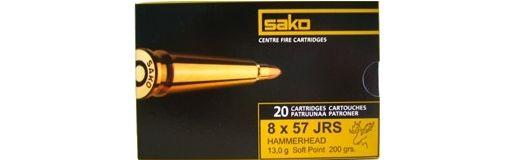cartouche à balle Sako 8x57 JRS Gamehead 175 gr
