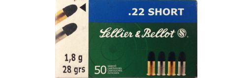 cartouches à balle 22 court Sellier & Bellot