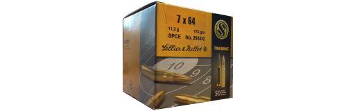cartouches à balle Sellier & Bellot 7x64 SPCE