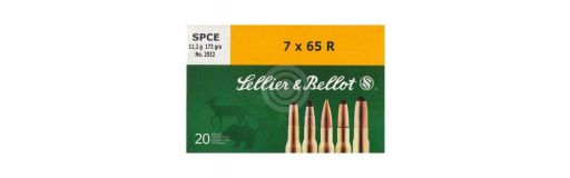 cartouche à balle Sellier & Bellot 7x65 R SPCE